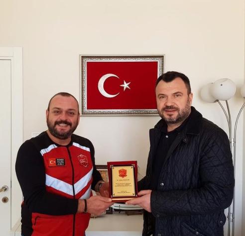 Türkiye Motosiklet Platformu'ndan Plaket !