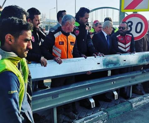 Nilüfer'e Motosiklet Koruyucu Bariyer Montajı !